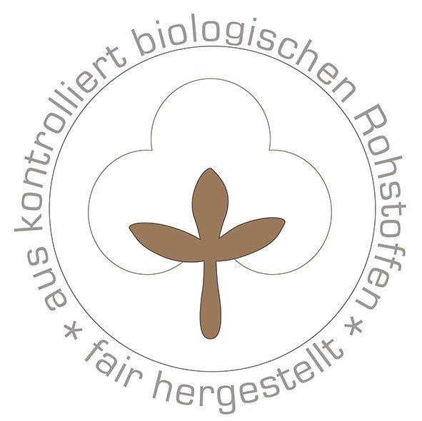 Das Gütesiegel für ökologische Rohstoffe und fair hergestellt