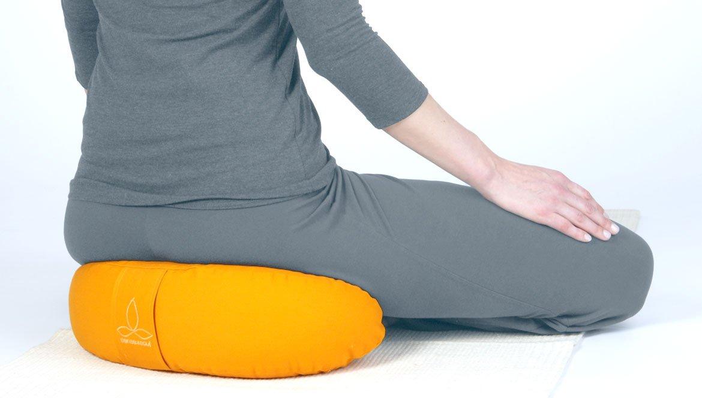 Halbmond für Yogasitz