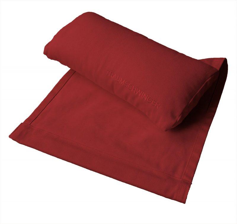Nackenkissen für Traumschwinger in Farbe rot