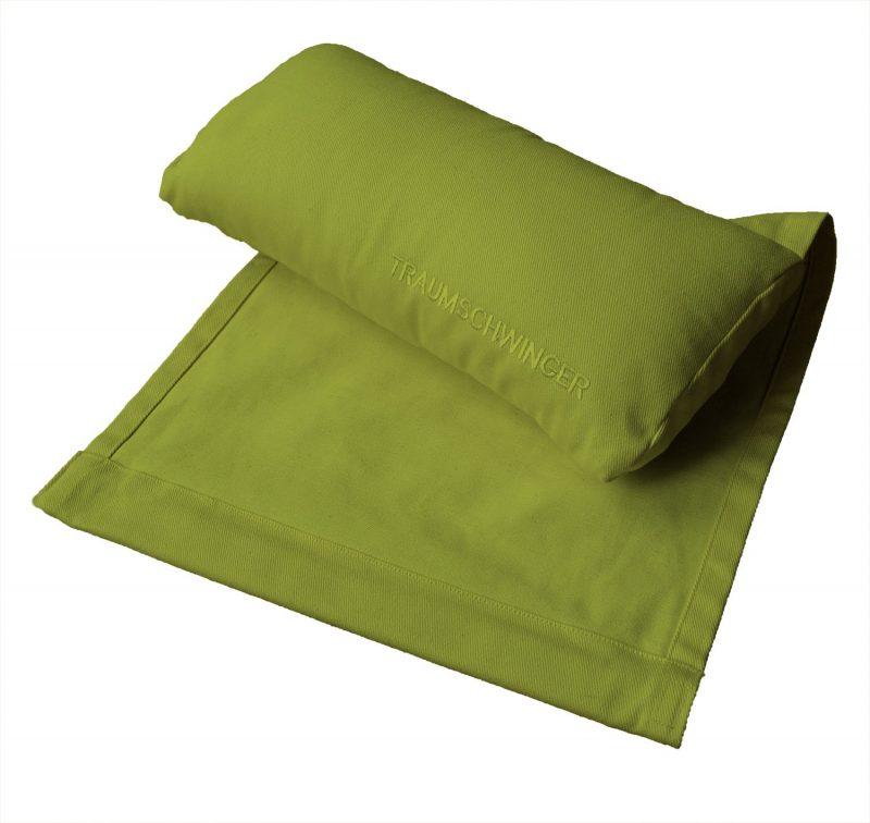 Nackenkissen für Traumschwinger in Farbe grün