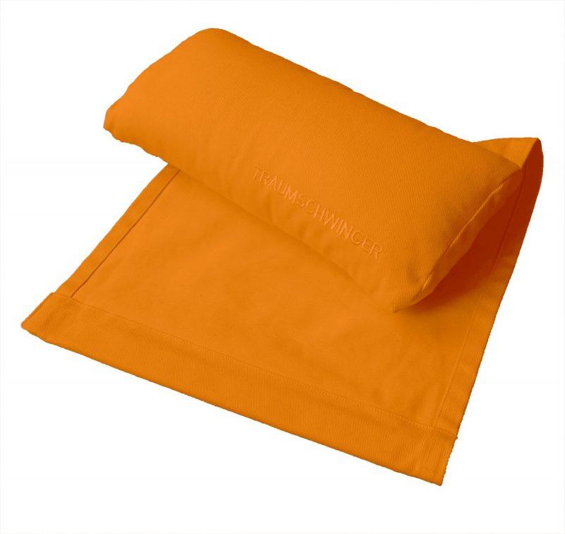 Nackenkissen für Traumschwinger in Farbe orange