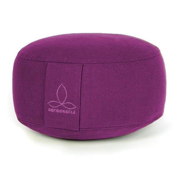 Bodenkissen und Sitzkissen in der Farbe violett