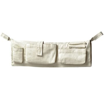 Kleine Seitentasche für den Traumschwinger in der Farbe natur