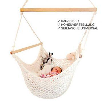 Babyhängematte in der Farbe Natur