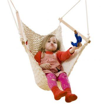 Hängesessel für das Kinderzimmer