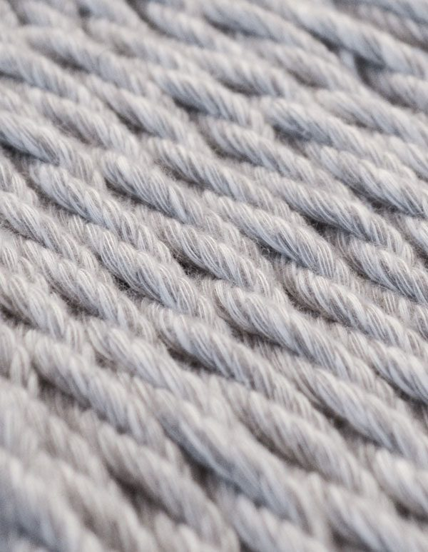 Netzfarbe Silver Melange