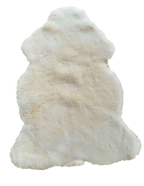 Ökologisches Schaffell für Babywiege