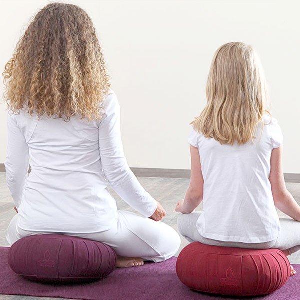 Yogakissen aus ökologischer Baumwolle