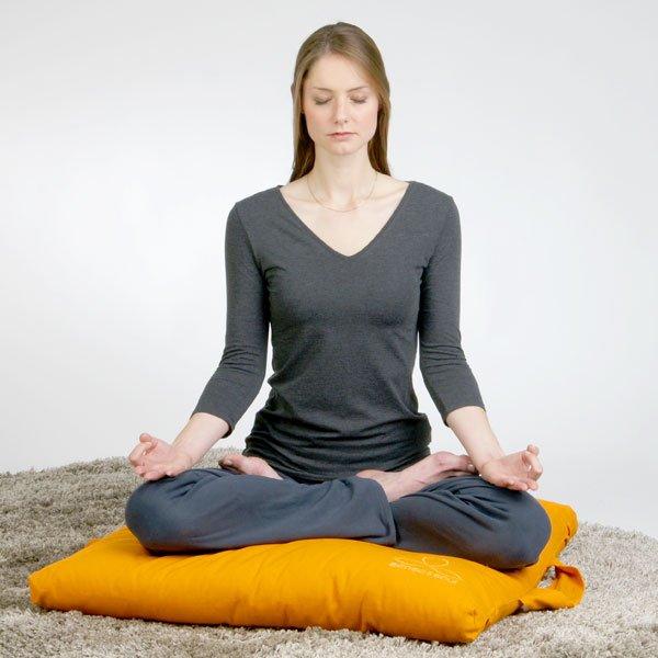 Meditieren mit dem richtigen Bodenkissen
