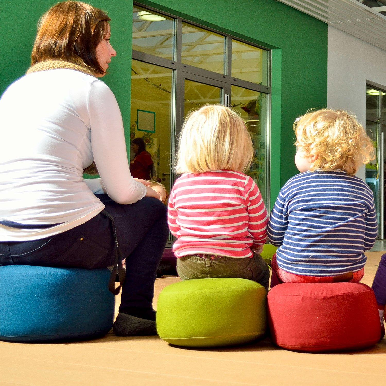 Ergonomische Bodenkissen für Kinder