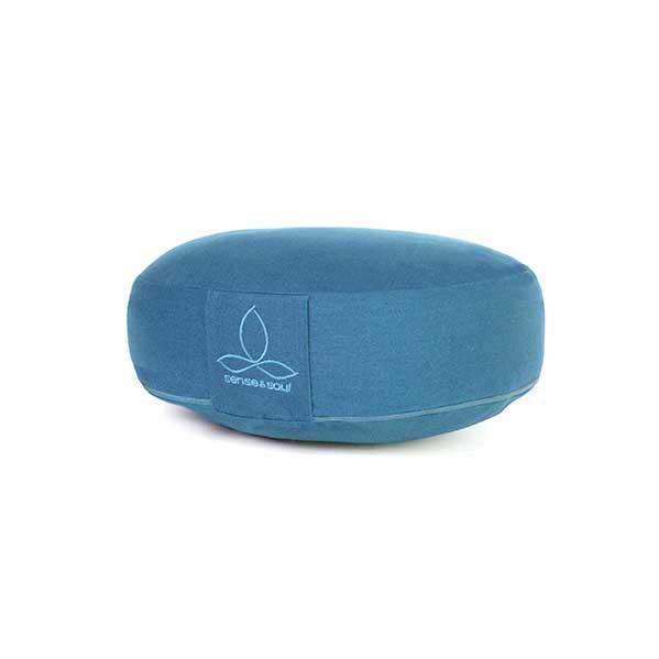 Das Rondo flach in blau