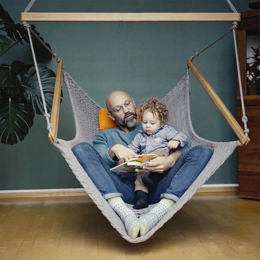 Der Traumschwinger Hängesessel für die ganze Familie